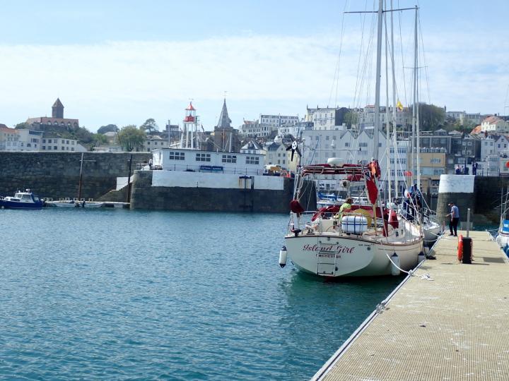 Guernsey - a safe arrival